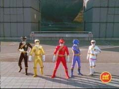 Power Rangers Wild Force 'United They Roar'