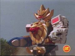 Wild Force Megazord is formed