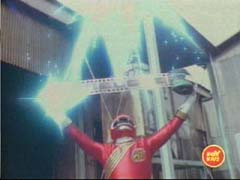 The Red Ranger restores the people's images