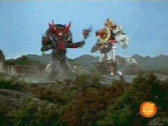 Tire Org overpowers the Megazord